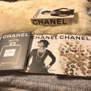 CHANEL Assouline 3 Book  ser